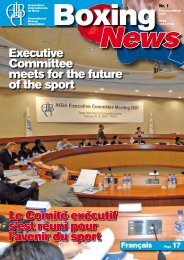 Executive Committee meets for the future of the sport Le ... - AIBA
