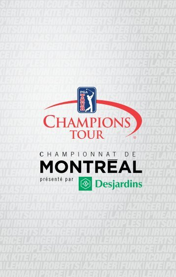 Brochure corporative - Championnat de Montréal