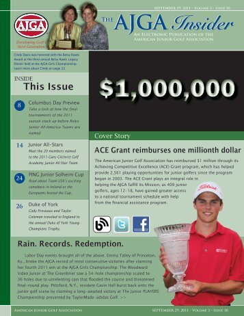 Download the PDF version of this issue - American Junior Golf ...