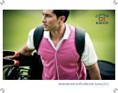 International Golf Collection Spring 2012
