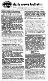 . ' daily news bulletin - JTA