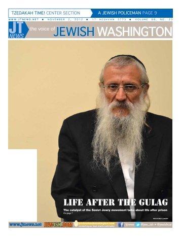 November 2, 2012 - The Jewish Transcript