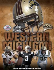 2009 INFORMATION GUIDE - College Football Dvds-Media Guides ...
