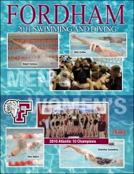 2011 SWIMMING AND DIVING - Community
