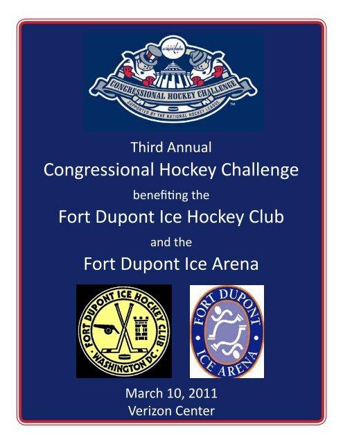 2011 CHC Event Program - Congressional Hockey Challenge