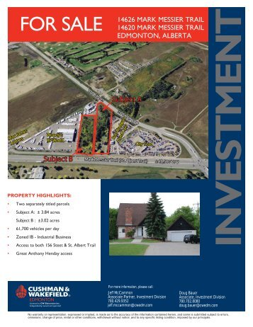 14626 Mark Messier Trail (2 lots).indd