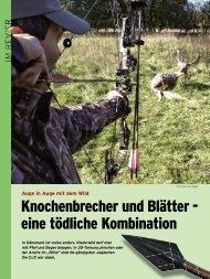Knochenbrecher und Blätter - Deutscher Bogenjagd Verband eV