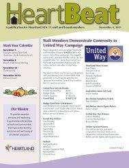 Staff Members Demonstrate Generosity to ... - Heartland AEA 11