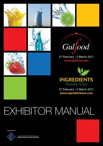 Gulfood 2011 Exhibitor Manual - IFEX Philippines