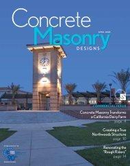 lowAPRILcmd08 - National Concrete Masonry Association