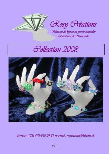 Rosy Créations Créations de bijoux en pierres naturelles & cristaux de