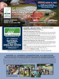 national capital angling show - National Capital Chapter Trout ...