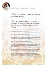 Quotations from the Writings of Catherine McAuley - Mercy World