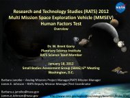 2012( Multi - Lunar and Planetary Institute