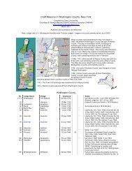 Craft Masonry in Washington County, New York - Onondaga and ...