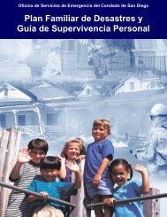 Plan Familiar de Desastres y Guía de Supervivencia - County of San ...