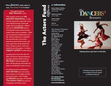 The Dancers' Resource - The Actors Fund