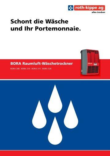 Prospekt BORA - Roth-Kippe