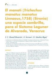 El manatí (Trichechus manatus manatus Linnaeus,1758 ... - RUA