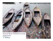 Noyyal River Pollution excreta happens!!!! - Centre for Science and ...