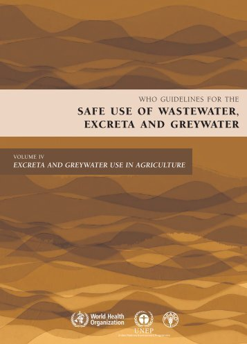 safe use of wastewater, excreta and greywater - SuSanA
