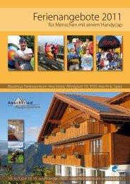 2010/2011 - Ferienzentrum Aeschiried