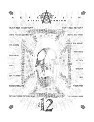 Download a PDF version of Issue #12. - Adrenalin Zine