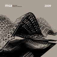 Year Book 2009 - the Manchester School of Architecture
