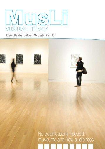 MusLi (Museums Literacy) - Fondazione Fitzcarraldo