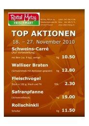 Walliser Brote - Rottal-Metzg