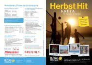 Herbst Hit - Royal Reisen AG