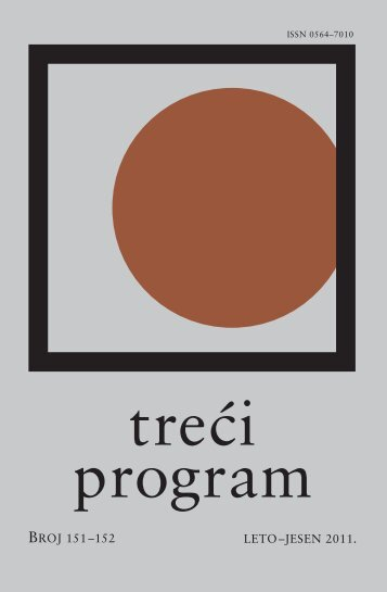 Број 151-152 2011.пдф - Radio Beograd