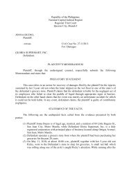 memorandum 14424 - Supreme Court of the Philippines