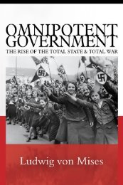Omnipotent Government - Ludwig von Mises Institute