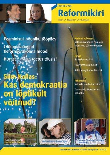 Reformikiri Siim Kallas - Reformierakond