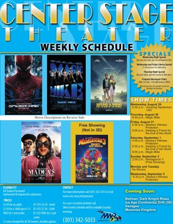 Movie August 29 - Sept 5.indd - CNIC.Navy.mil