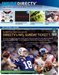 direcTV's nFl sunday TickeTTm!