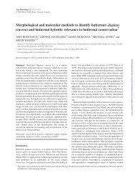 Morphological and molecular methods to identify ... - Tree Physiology