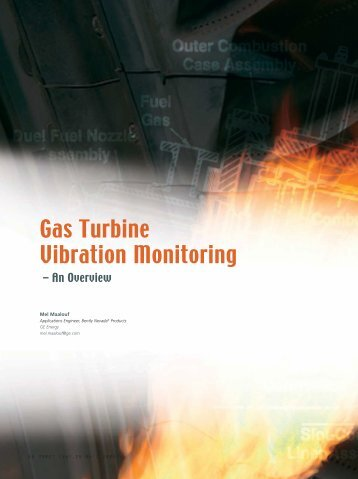 Gas Turbine Vibration Monitoring - GE Measurement & Control