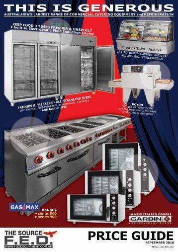 FED Catalogue (8MB) - Arafura Catering Equipment
