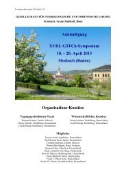 Ankündigung XVIII. GTFCh-Symposium 18. – 20. April 2013 ...