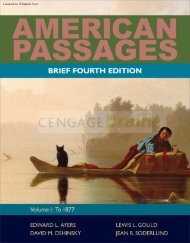 American Passages: A History of the United States ... - NelsonBrain