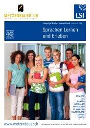 Sprachen Lernen und Erleben - Metzenbauer & Co.