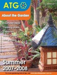 Summer - About The Garden Magazine