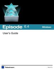 Episode User's Guide - Telestream