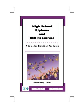 High School Diploma and GED Resources
