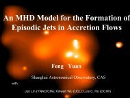 An MHD Model for the Formation of Episodic Jets in Accretion ... - KIAA