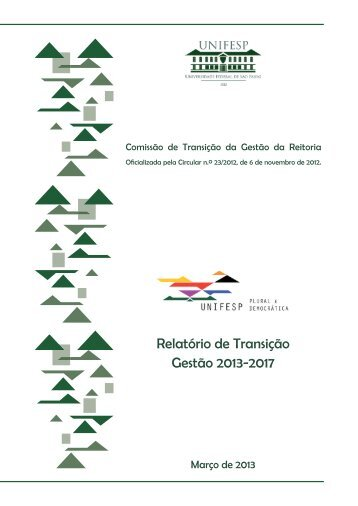 Relatório de Transição Gestão 2013-2017