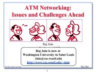 ATM Networks: Issues and Challanges Ahead