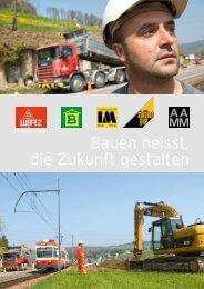 Bauen heisst, die Zukunft gestalten - Rudolf Wirz Strassen- und ...